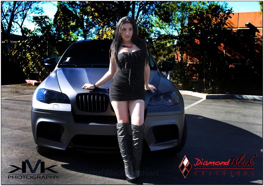 Bmw X6m Wrapped In Metallic Matte Dark Grey Frozen Grey By Dbx Diamond Black Exteriors Dbx